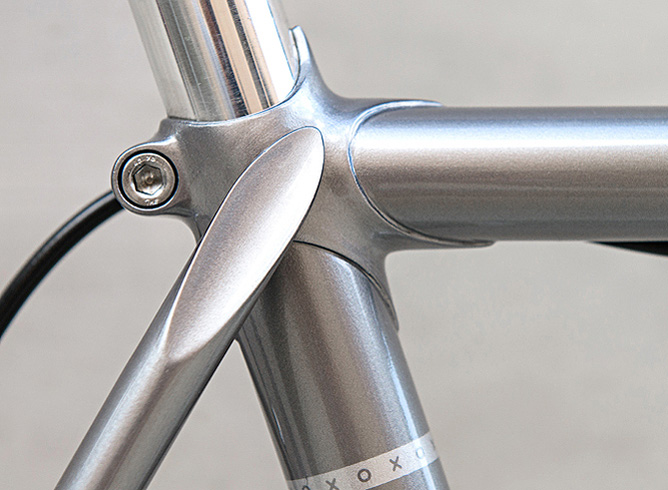 City Two: Custom steel bicycle frames from Austin, Texas, frame builder Matt Mowat of Paramour Bicycles