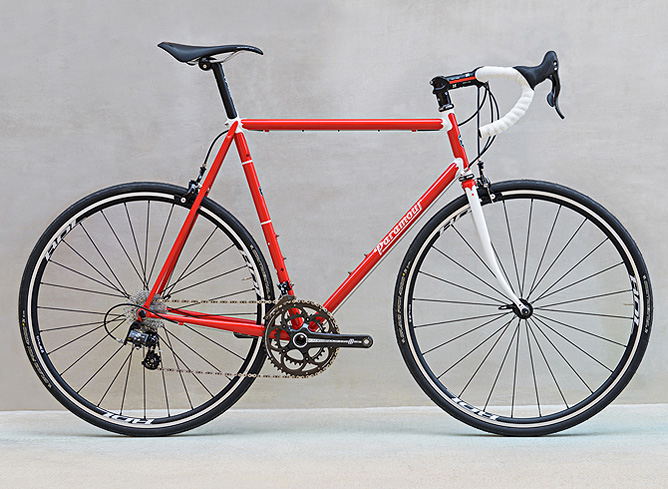Custom Steel Road Bikes from Paramour Bicycles of Austin, Texas